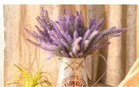New Flowers Provence Lavender Flower Silk Artificial Flower ...
