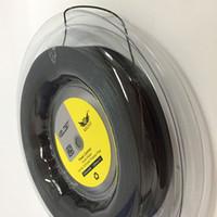 Новое поступление лучшее качество 660FT премиум катушка жесткая головка регулятор мощности теннис ракетка строка для струнного тенниса ,1.25 мм черный 17