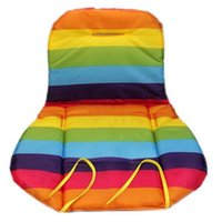 76874bb98 Al por mayor-Bebé Kid Rainbow impermeable Cochecito Cojín Pram Padding  Liner Sillita de coche Piezas de cochecito