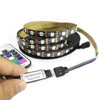 TV PC Background LED Strip Lighting DC5V USB SMD5050 RGB 60L...