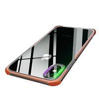 Custodie trasparenti TPU trasparenti 2 in 1 Clear Case per iPhone X Xr Xs Max 8 7 6S 6 Plus