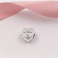 Authentic 925 Sterling Silver Beads Nan' S Love Charms F...