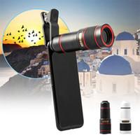 Универсальный 14X зум Оптический телескоп 4K HD Мобильный телефон телеобъектив с зажимом для iPhone Sumsung Xiaomi Huawei