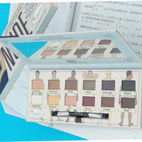 Explosive models the balm 12 color eyeshadow beautiful men h...