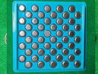 0% Hg Pb 100% frisch AG10 LR1130 389 SR1130 189 LR54 V10GA 1,5 V Alkali-Knopfzelle Knopfzellen Masse Tablett Verpackung