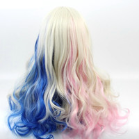 fashion High Temperature Fiber Cosplay Party Wigs Harley Qui...