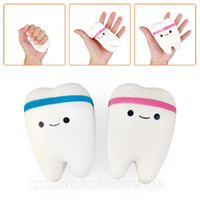 Tooth Slow Rising Squishy Emoji Squishies Toy Kawaii Rebound...