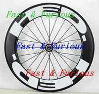 뜨거운 2018 사용자 지정 바퀴!로드 자전거 경주 HED 50MM U 모양 전체 탄소 섬유 바퀴 Clincher / 관형 도로 자전거 중국 탄소 바퀴