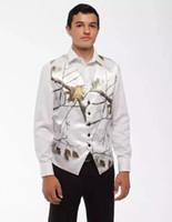 Fait sur mesure pour hommes Costumes de mariage Groom Tenue de soirée Smokings meilleur homme Epoux Gilet Costume Homme Prom Wear Slim Fit Terno Masculino