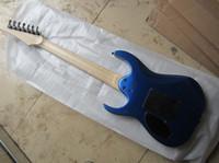 En Kaliteli Siyah Donanım Yeni Ibz Özel Mağazalar Gülağacı RG Mavi 7 Strings Floyd Rose Elektro Gitar Ücretsiz Kargo