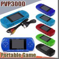 E Player Player PVP Station Light 3000 (8 bits) Pantalla LCD de 2.7 pulgadas PVP3000 Handheld Videojuego Player Console Mini Caja de juego portátil C-Zy