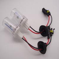 200W Xenon HID lampadine del faro dell'automobile della luce della lampada H1 H4 H7 H11 9005 9006 6000K Bianco