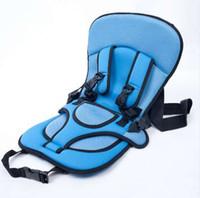 Frete Grátis Crianças Carro de Segurança Assento Beleza Baby Assento Cadeira de Segurança Do Carro Simples Assentos Portáteis 0-4 Anos Max 20kg 65 * 36 cm