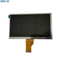Display de módulo de 7 polegadas 1024 * 600 TFT LCD com tela de ângulo de visão TN e painel de interface LVDS