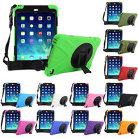 For iPad 2 3 4 5 Mini Air Hybrid Heavy Duty Stand Shockproof...