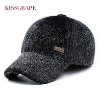 2bb826aea82b ... d hiver avec des oreillettes dans le temps froid Les chapeaux chauds de  papa des familles Les meilleurs cadeaux du père gardent les chapeaux chauds