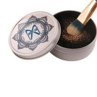 Maquiagem escova limpador esponja removedor escova lavagem lavagem para olho sombra potência escova de lavagem rápida ferramenta DHL frete grátis