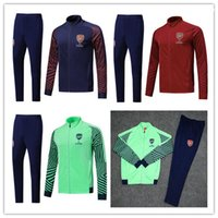 ARSENAL tracksuit 18 19 survetement full zipper Football jac...
