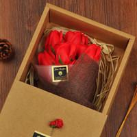 비누 꽃 선물 영원한 꽃 선물 발렌타인 데이 크리 에이 티브 어버이 날 선물 시뮬레이션 꽃 도매
