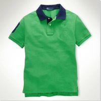 Free shipping!9 stlye 100% Cottom The choice of summer Hot Sale classic fashion Short Sleeve big horse Polo men's Shirt ,Drop shipping