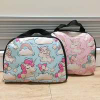 50pcs Unicorn Printed PVC Foldable Folding Collapsible Porta...