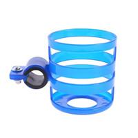Plástico Carrinho De Bebê Carrinho de Copo Titular Garrafas De Leite Rack de Bicicleta de Liberação Rápida Garrafas De Água Titular do Copo de Acessórios Para Carrinho de Bebê