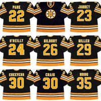 22 BRAD PARK 23 CRAIG JANNEY 24 TERRY O REILLY 26 MIKE MILBURY Boston Bruins 207361f88