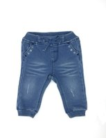 Newborn Baby Girl Clothes Knittin Denim Jeans High Quality F...