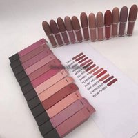 New Arrival Makeup Matte Lipstick Lips Lip Gloss Angel Brave...