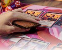 50PCS / الكثير سحر اللقاء ماتي لوحة لعبة بطاقات MTG deckmaster متج wotc