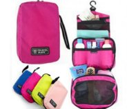 Travel Mate Bag Cosmetic Bags Nylon Makeup Bag Travel Toilet...