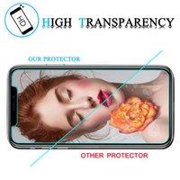 Для Iphone 11 XR XS MAX 8Plus X Закаленное стекло экрана протектор для защиты пленки iPhone 6S Plus с коробкой розничной упаковке