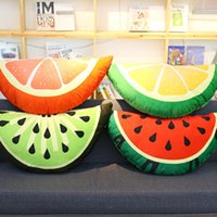 4 Kinds Plush Fruits Cushion Plush Fruits Pillow Fruits Deco...