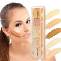 Nuovo arrivo Base 5 colori Contorno Correttore Trucco Idratante Fondotinta Correttore Crema per la pelle Viso Maquiagem
