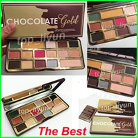 Faced Makeup Palette COCOA Eye Shadow Chocolate Gold Eyeshad...