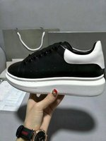 New Mens Womens White Leather Low Top Platform Sneakers, Bran...