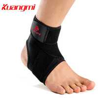 Kuangmi 1 PC Adjustable Pressurized Bandage Ankle Support Me...