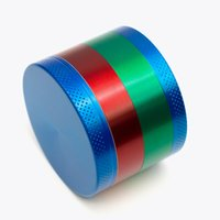 Black Silver Colorful Herb grinder 55mm 4 layer electric met...