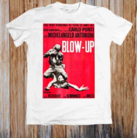 BLOW- UP 60' s MOVIE POSTER UNISEX T- SHIRT
