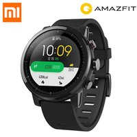 Version originale anglaise Xiaomi HUAMI AMAZFIT Stratos GPS Montre de sport intelligente 2 Version 5ATM étanche Écran tactile Montre Homme