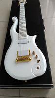 سلسلة PRINCE White Cloud Guitar - صناعة يدوية مع حقيبة