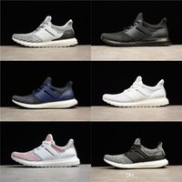 Ultra 4. 0 2018 Triple Black Triple White Primeknit Runner Fa...
