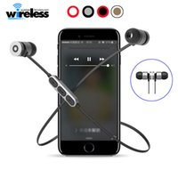 bt- w1 Magnetic Wireless Bluetooth headphones Earphones Heads...