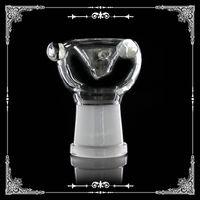 Производитель стеклянная женская чаша стеклянный адаптер 14 мм / 18 мм стеклянная чаша для курения чаши 14 мм 18 мм бесплатная доставка