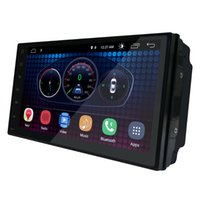 7 pollici Android 6.0 Universal Head-unit 1024 * 600 Android Car Navigation GPS Multimedia Player Radio Bluetooth Wifi DVR pronto