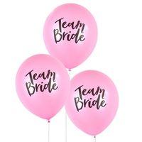 Team Bride Latex Balloon For Wedding Party Addio al nubilato addobbi per feste