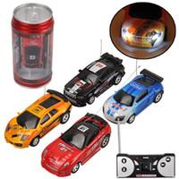 Coke Can Mini RC Voiture Télécommande Micro Racing Voiture Electric Toys Enfants Christmas Electric Enfants Christmas Christmas Jouets Cadeaux