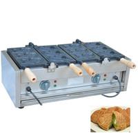 Vollautomatische elektrische taiyaki waffeleisen maschine 110 v 220 v kommerziellen japanischen waffeleisen maschine zum verkauf