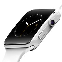 X6 Smart watches Curved Screen Phone con ranura para tarjeta SIM TF con cámara para Samsung smartwatch