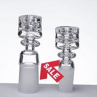 Diamant-Knoten-Quarz-Nagel-leistungsfähige Nägel SleekElegant Entwurfs-domeless Quarznägel 10mm 14mm 18mm Quarz-Banger